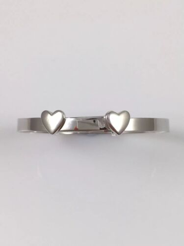 925 Sterling Silver Engraved Christening Baby Bangle Personalised 4.77gr NEW