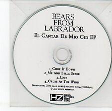 (EH27) Bears From Labrador, El Cantar de Mio Cid EP - DJ CD