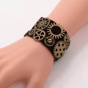 Vintage-Steampunk-Gear-Wrist-Cuff-Retro-Victorian-Gear-Party-Costume-Bracelet