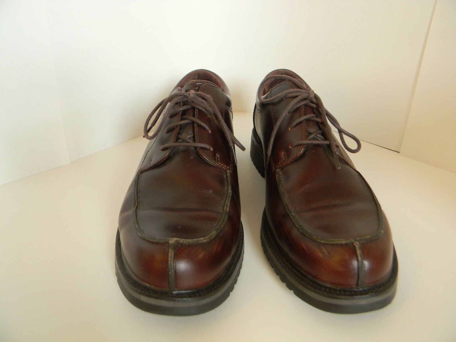 Mens Cole Haan Burgandy Country Waterproof Oxford shoes Size 11M