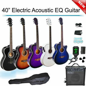 40-inch-Cutaway-Electric-Acoustic-EQ-Guitar-with-AmpTuner-Picks-Bag