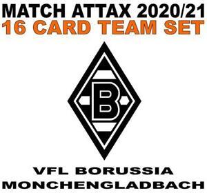 Match Attax Champions League 2020/21 BORUSSIA MONCHENGLADBACH 16 card team set