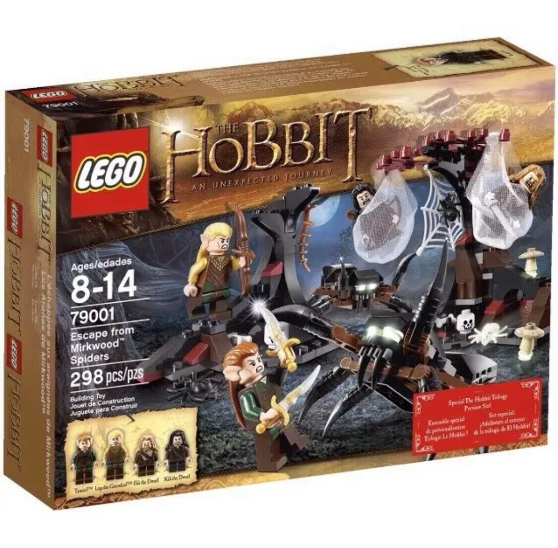 The The The Hobbit - Escape from Mirkwood Spiders Flucht vor den Mirkwood Spinnen 79001 0da2c3