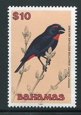 Bahamas 1991 Vogel $10 Bird Uccello Oiseaux 759 Postfrisch Mnh Superior (In) Quality