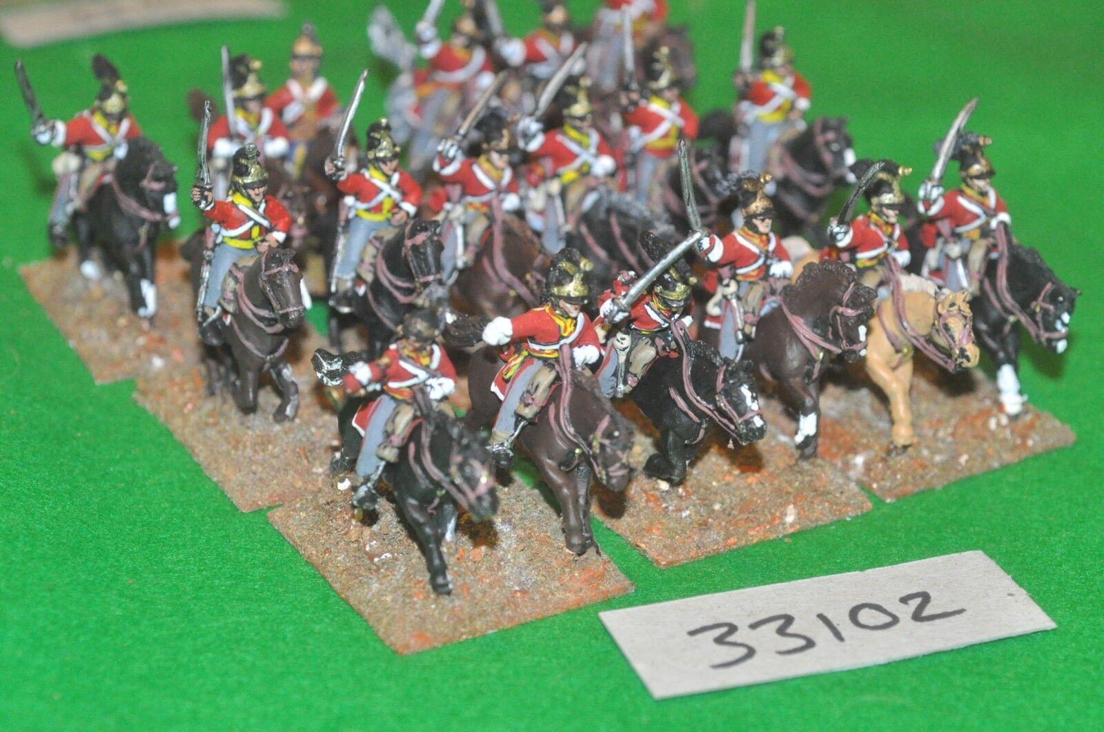25mm napoleónicas británico pesado Dragón 18 figuras-CAV figuras-CAV figuras-CAV (33102)  hasta un 70% de descuento
