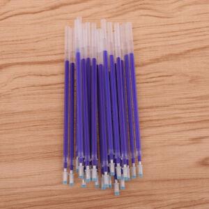 20-Stuck-Markierstiftminen-von-Leder-Marking-Pen-Hochtemperatur-Verschwinden
