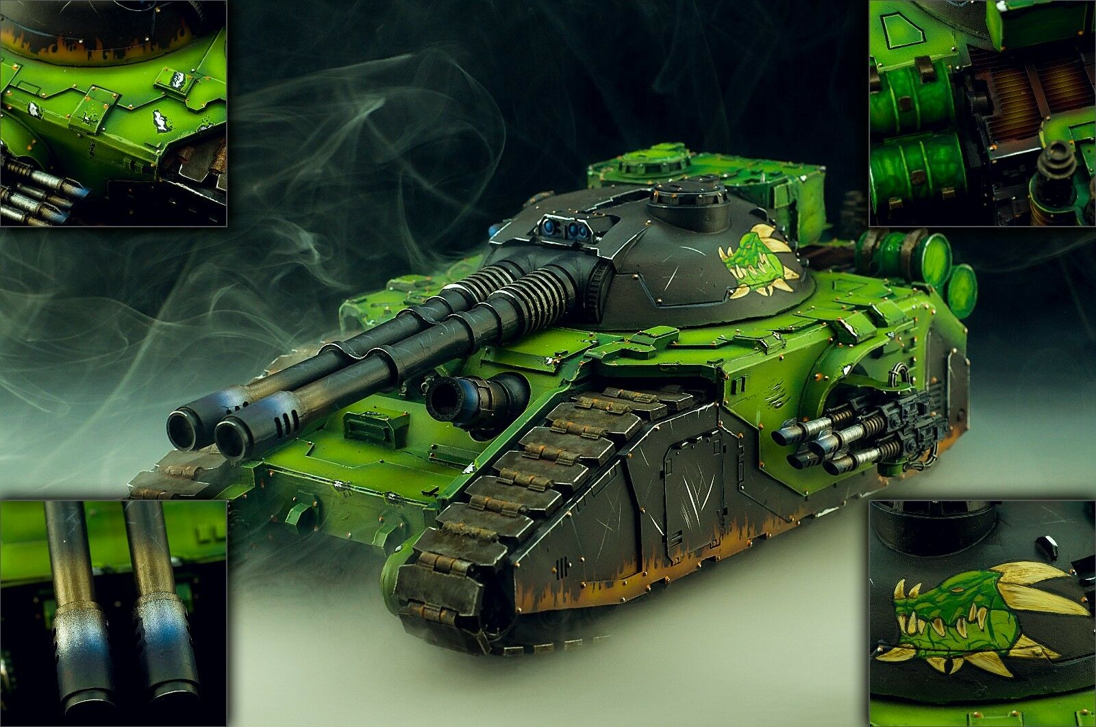Legion Fellblade - Warhammer 40k 30k Målat Commission
