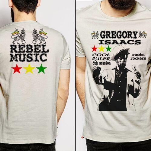 cotton rasta Reggae Gregory Isaacs T shirt Dancehall King Tubby Yellowman