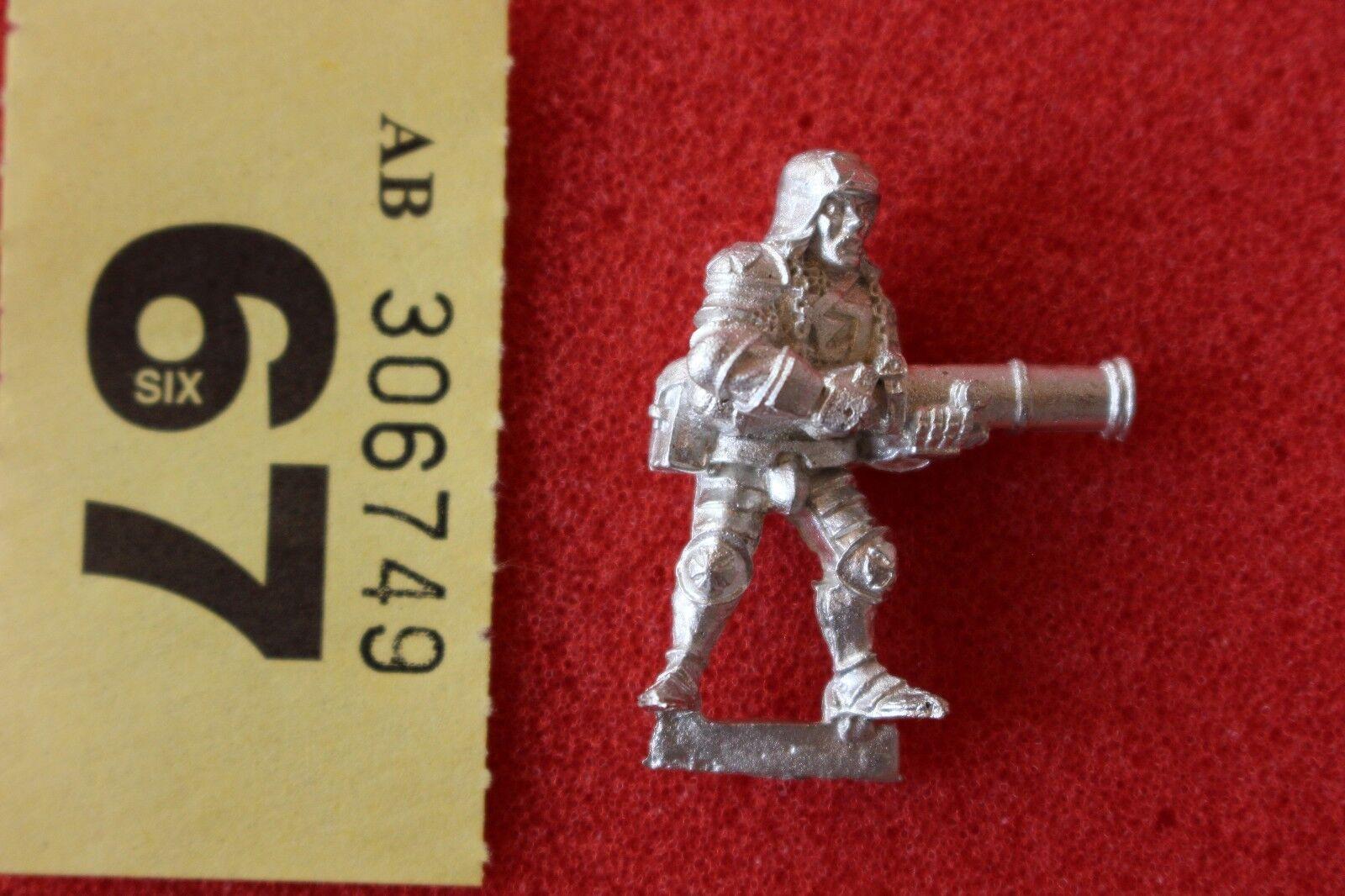 Games Workshop Mordheim Ostlanders Warhammer Empire Metal Figure Mint New OOP B2