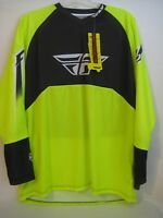 Fly Ripa Convert Jersey Yellow And Black 2xl Xxl With Tags