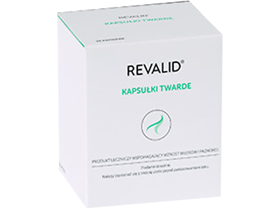 REVALID HAIR LOSS 90caps REGROWTH TREATMEN HAIR /& NAIL REGENERATION revalid
