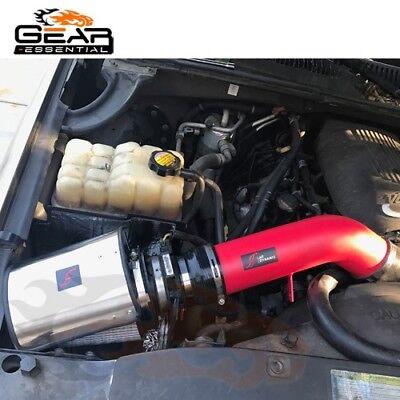 BCP RED 2003 2004 2005 2006 Sierra V8 5.3L//6.0L Heat Shield Cold Air Intake