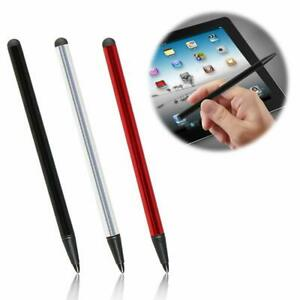 2 in 1 For iPhone iPad Samsung Tablet Touch Screen Pen Stylus Universal Stylus