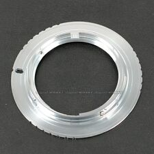 Silver M42 Lens to Minolta SONY MA A350 A300 A700 A850 A900 Adapter Ring M42-AF