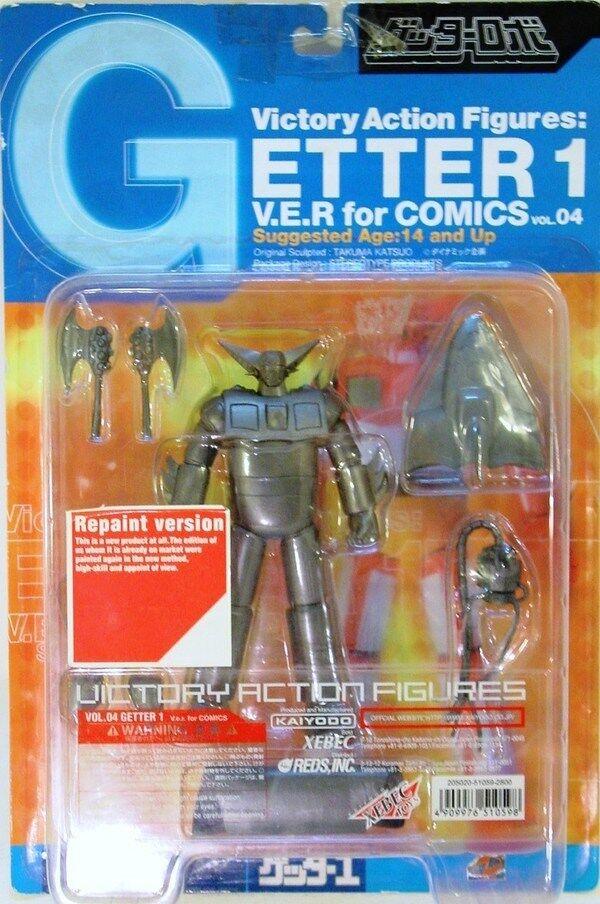 ROBOT JAPAN  GETTER 1  versione da verniciare-cm. 16 VICTORY VOL.14 KAIYODO