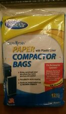 Clean kitchen trash compactor bag 12 pack  heavy duty
