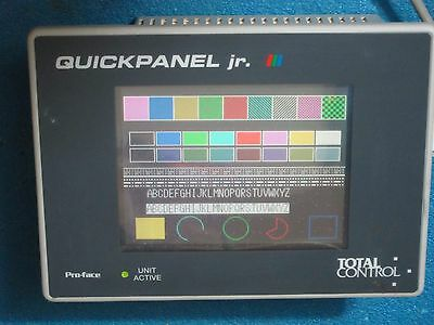 Rebuilt Tested Total Control Ge Fanuc Qpj2d100s2p Quickpanel W Warranty Ebay