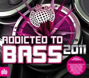 Various-Artists-Addicted-to-Bass-2011-CD-3-discs-2011-FREE-Shipping-Save-s