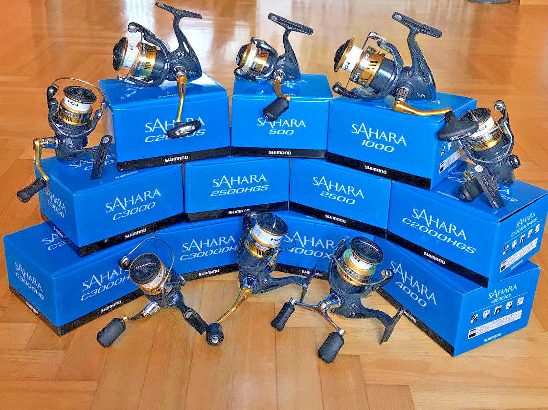 Shimano Sahara FI 500-5000 (All  Models) Spinning Reels  low price