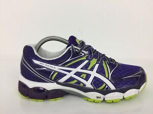 Asics-Gel-Pulse-6-Violet-TEXTILE-Sneaker-Trainer-T4A8N-Femmes-Siz-UK-6-EUR-39-5