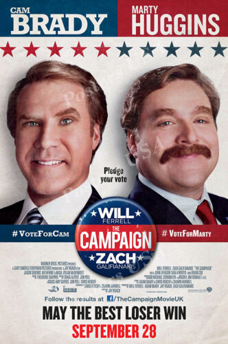 The Campaign Movie Poster Glossy Finish Posters USA MOV716