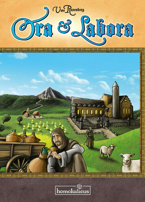 Ora et Labora Board Game NEW Z-Man Games Second Edition