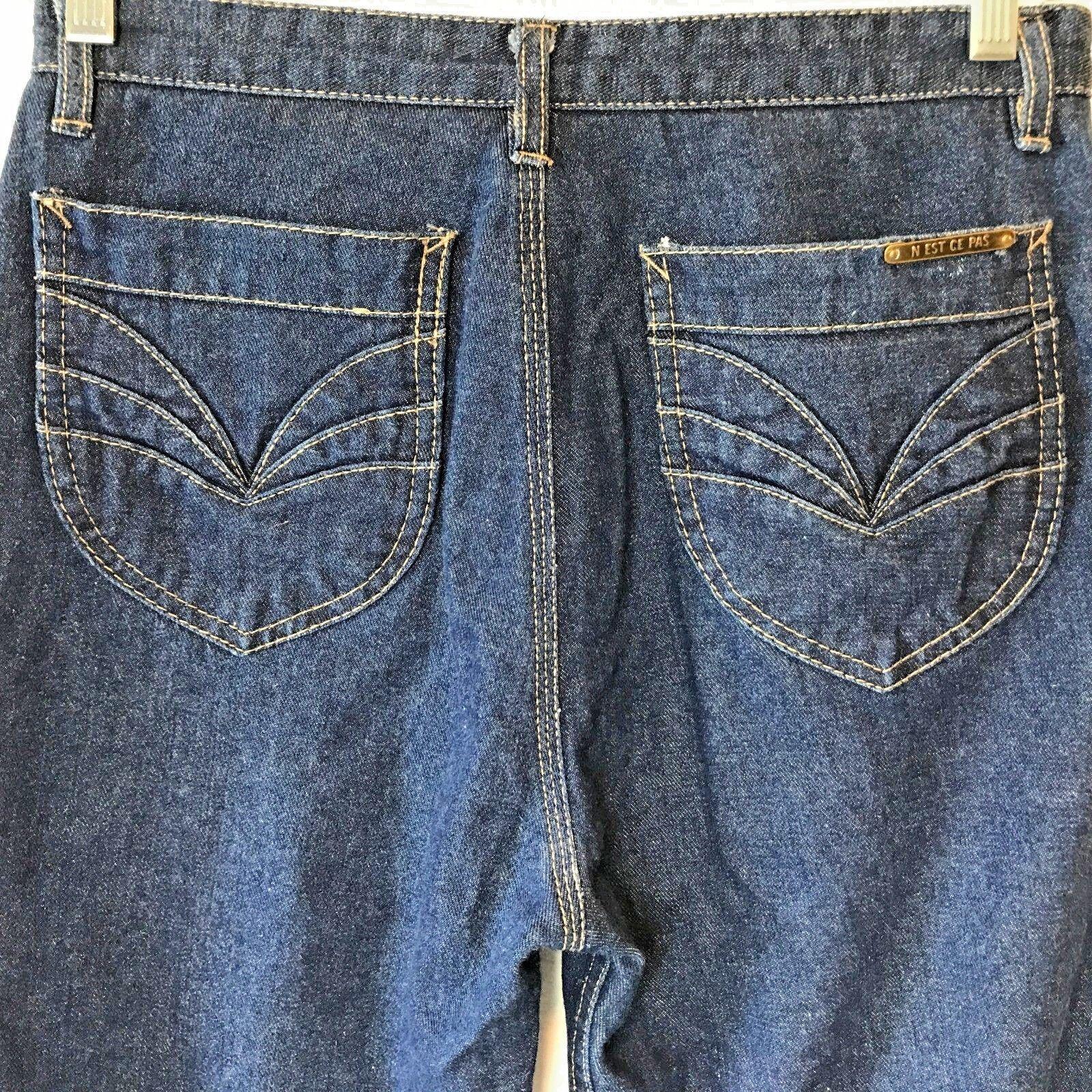 Vintage 1980s Nest N'est Ce Pas High Waist Jeans … - image 1