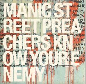 Manic-Street-Preachers-Know-Your-Enemy-album-sampler-CD