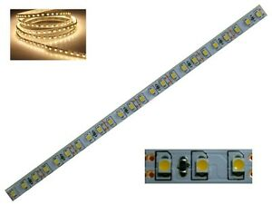 S354-1-Stueck-20cm-LED-Beleuchtung-je-24-LED-WARMWEIss-Haeuser-Waggons-RC-Modelle