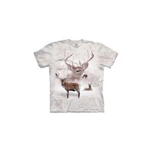 The-Mountain-Unisex-Adult-Wintertime-Deer-Animal-T-Shirt
