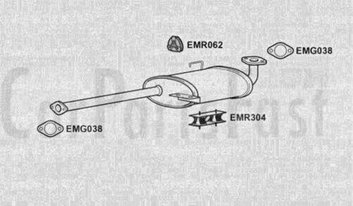 Exhaust Middle Box Isuzu Trooper 3.0 Diesel ATV//SUV 05//1998 to 12//2005