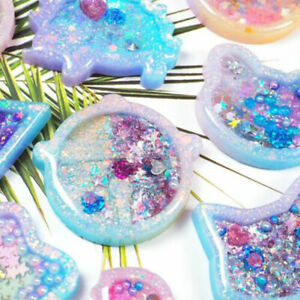 Cat Moon Silicone Mold Resin Epoxy Jewelry Making Mould DIY Craft CA 1Pcs