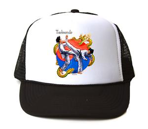 Trucker Hat Cap Foam Mesh Sports Taekwondo Korean Martial Art