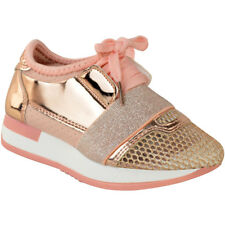 8ed488f9111769 item 1 Womens Girls Kids Bali Runners Trainers Lace Up Sneakers Diamante  Pumps Size -Womens Girls Kids Bali Runners Trainers Lace Up Sneakers  Diamante Pumps ...