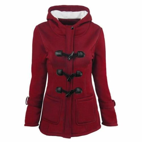 Women Basic Jackets Autumn Overcoat Zipper Outwear Hooded Coat