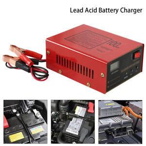 12V-24V-10A-LED-Intelligent-Chargeur-de-Batterie-pour-Voiture-Auto-Moto-EU-Plug