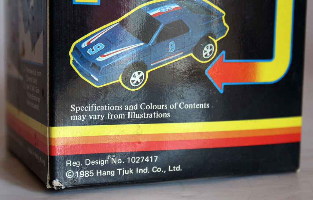 1985 ULTRA RARE TRANSFORMABLE AUTO CHANGE ROBOT HONG KONG KONG KONG BATTERY OP NEW MIB 77fda4