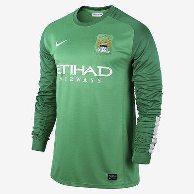 Amichevole Genuino Nike Uomo Manchester City Home Portiere Camicia 2013-14, Dimensioni: Xl, Xxl-
