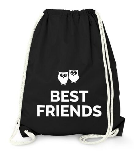 Gym Bag Moonworks® Turnbeutel Beste Freunde Best Friends Geschenk