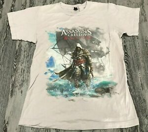 6fa6b8ef7d214 C8 Assassin's Creed IV Black Flag Video Game Promo Graphic Tee T ...