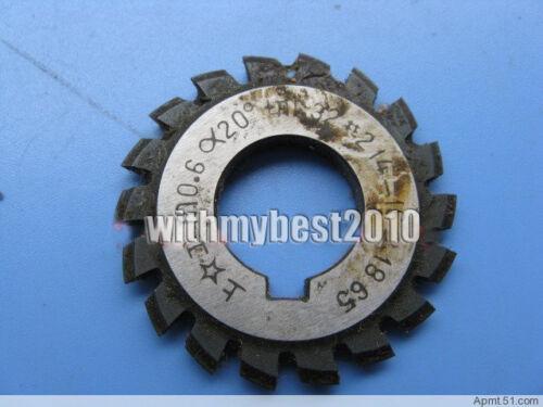 M0.5 20 degree #7 Cutting Range 55-134 Teeth Module 0.5 Involute Gear Cutter