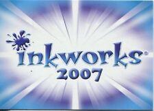 Inkworks San Diego Exclusive Promo Card 2007 INK-2007