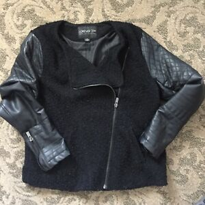 Forever21-Biker-Style-Spring-fall-Jacket-2x