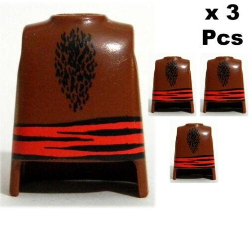 3 Pcs Playmobil Ethnic Bodies