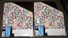 Jot Corrugated Document Paper Holder Cardboard Lot Of 2