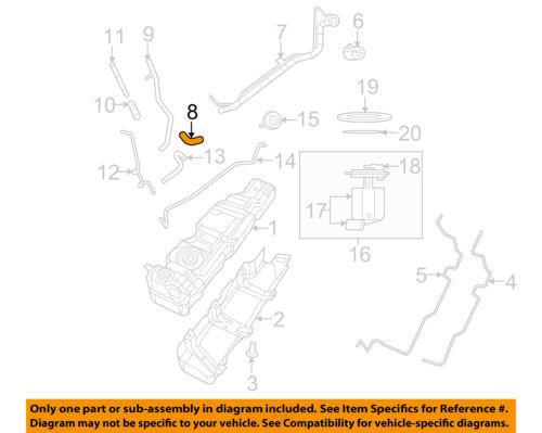 Jeep CHRYSLER OEM 07-11 Wrangler 3.8L-V6 Fuel System-Filler Hose 52060030AH