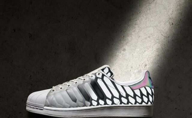 grey adidas superstar xeno