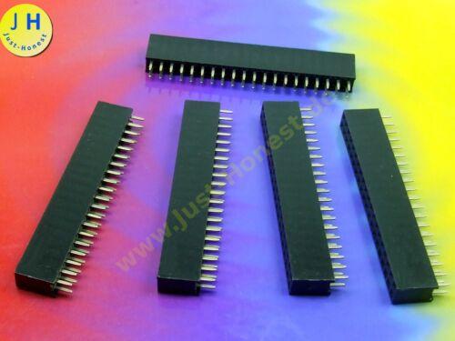 pins 2.54mm Zweireihig #A1966 HEADER 2 x 20 polig Stk.5x BUCHSENLEISTE