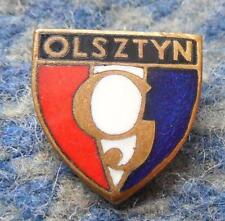 GWARDIA OLSZTYN FOOTBALL FUSSBALL SOCCER SHOOTING SPORTS JUDO 1960's BIG PIN