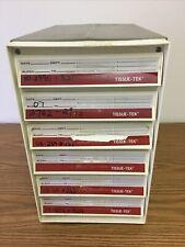 Tissue Tek Paraffin Cassette Block Filing Storage System Sakura Histology